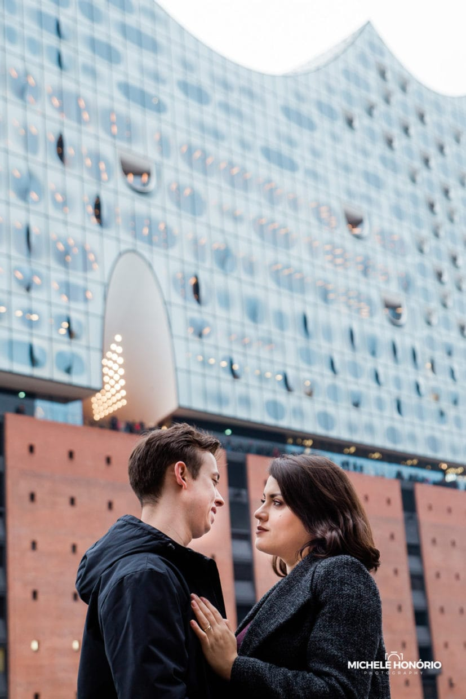 Paarfotos Elbphilharmonie