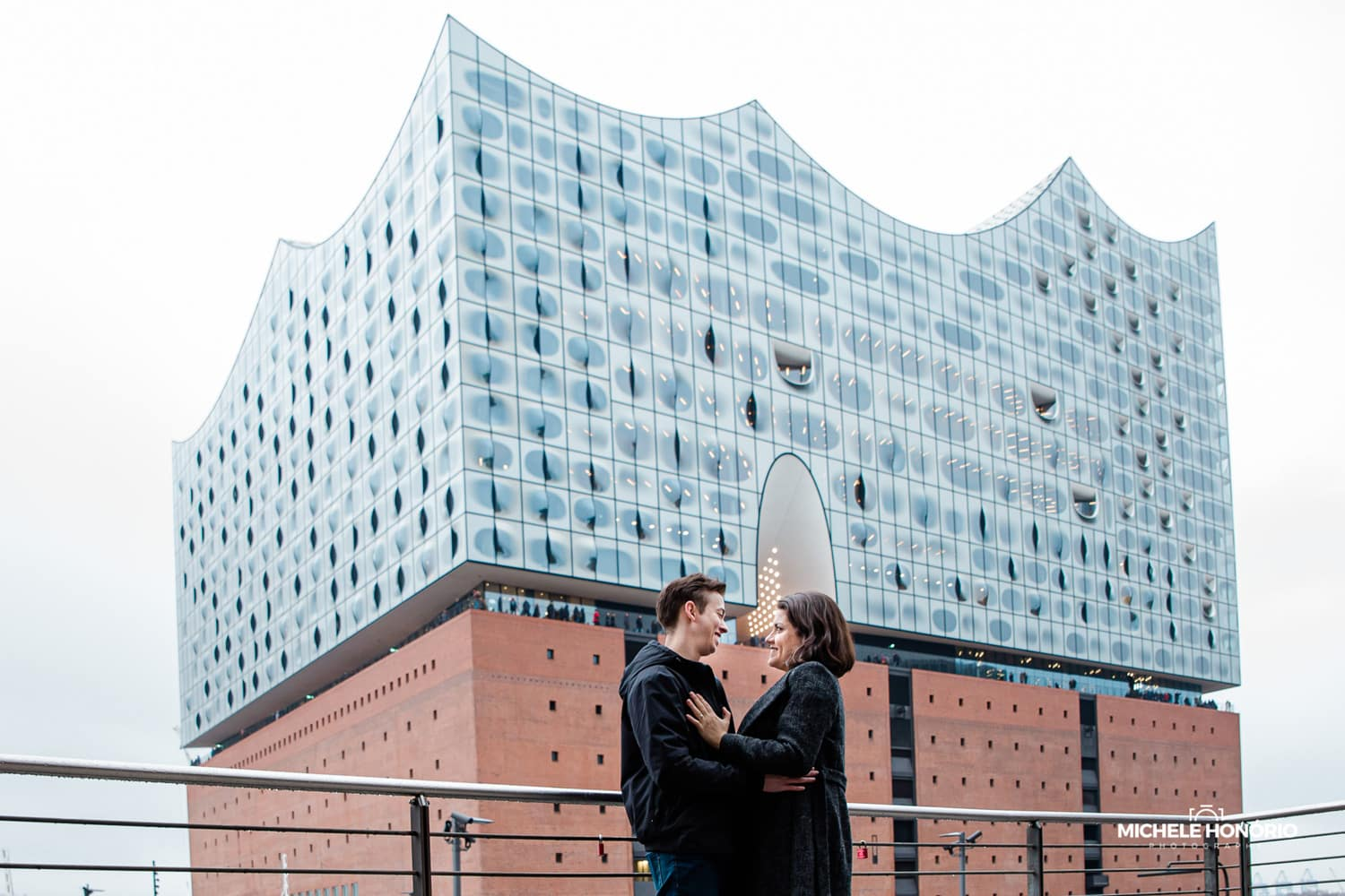 Paarshooting in Hamburg Elbphilharmonie